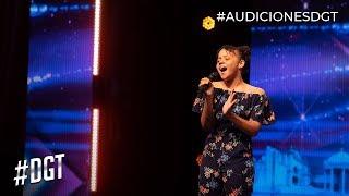 Con 12 aos, canta como toda una mujer Dominicanas Got Talent 2019