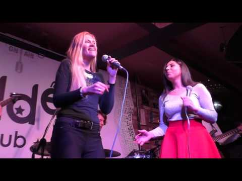 Анна Ханян и Виктория Терёшина - I Will Survive (Gloria Gaynor cover) @ Hidden bar 22.01.2017