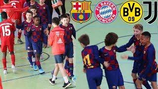 U12 FC Barcelona vs. Juventus Turin & FC Bayern - Turniervlog   ViscaBarca