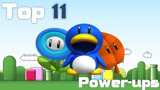 Top 11 Super Mario Power-ups
