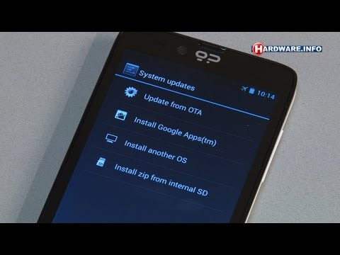 Geeksphone Revolution Multi-OS smartphone review - Hardware.Info TV (Dutch)