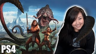 Conan Exiles on PS4! Live game play #3