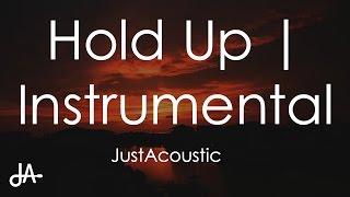 hold up beyoncé acoustic instrumental