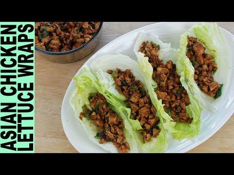 Tabbouleh Chicken Lettuce Wraps