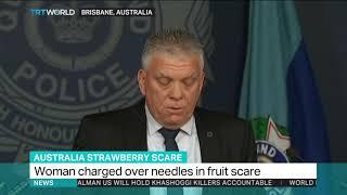 Strawberry needles suspect faces prison