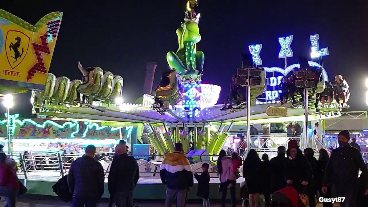 Feria atracciones Santa perpetua de moguda 2019 - YouTube