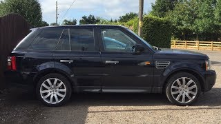 I bought the Cheapest range rover sport