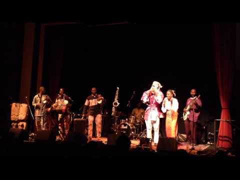 Lagbaja, April 30, 2015, Old Town School, Chicago