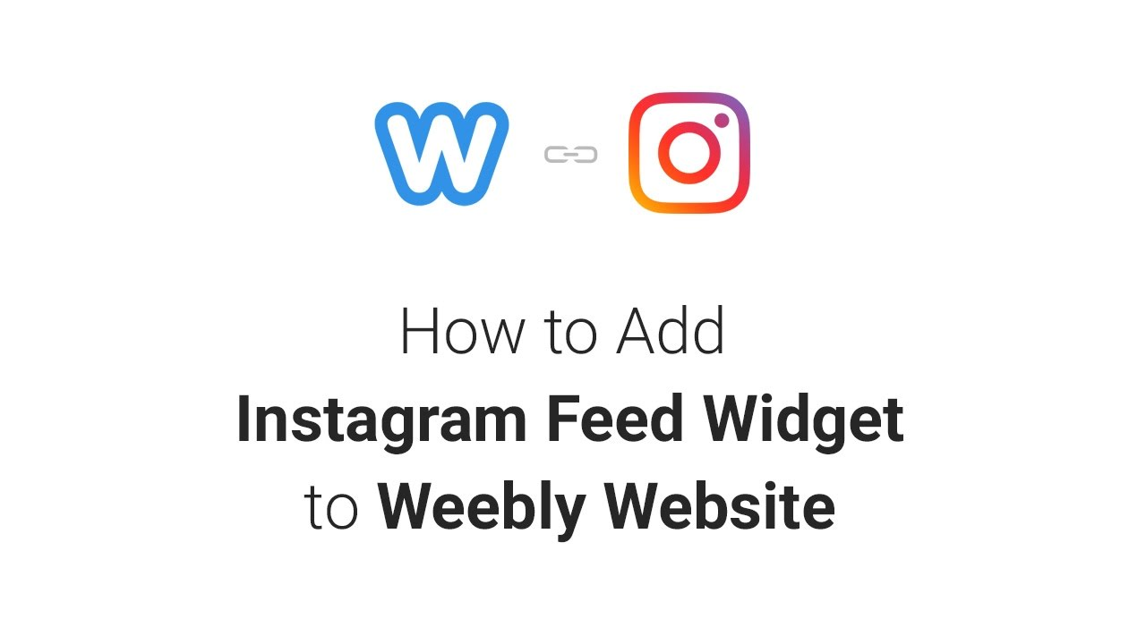 How to Add Instagram Feed Widget to Weebly Website (2019)