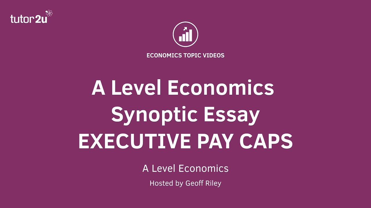 Essay on executive pay