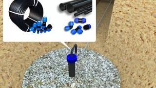 Как провести воду из скважины в дом (Видео №2)