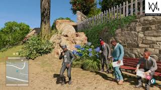WATCH_DOGS 2, Dance hacking, robbing them while they cheer for me...