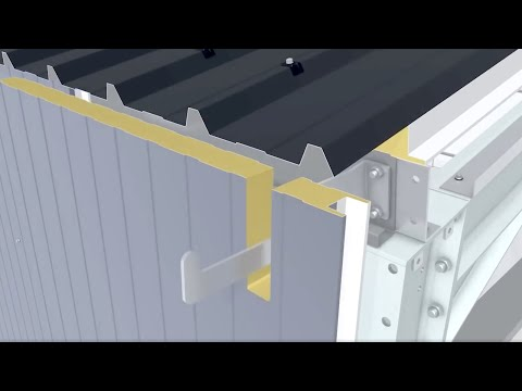 PU Sandwich Panel how to wall installation