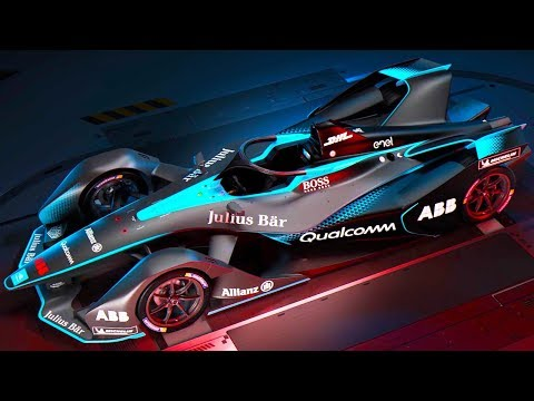 Gen2 Formula E racer revealed, debuts in 2018/2019 season