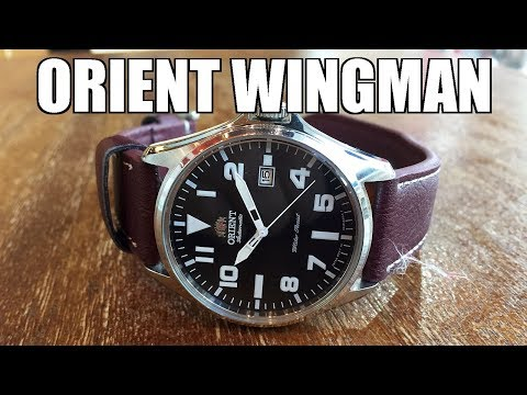 Orient Wingman 41mm Military Collection Automatic Watch Review (ER2D009B) - Perth WAtch #261