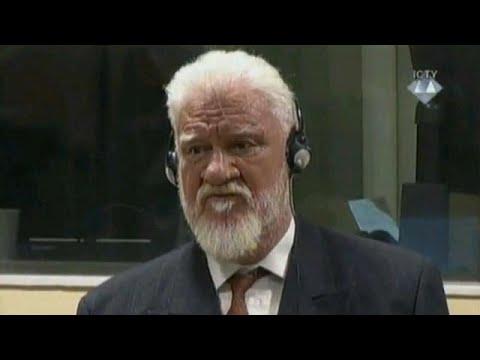 Bosnian Croat war criminal Praljak died of