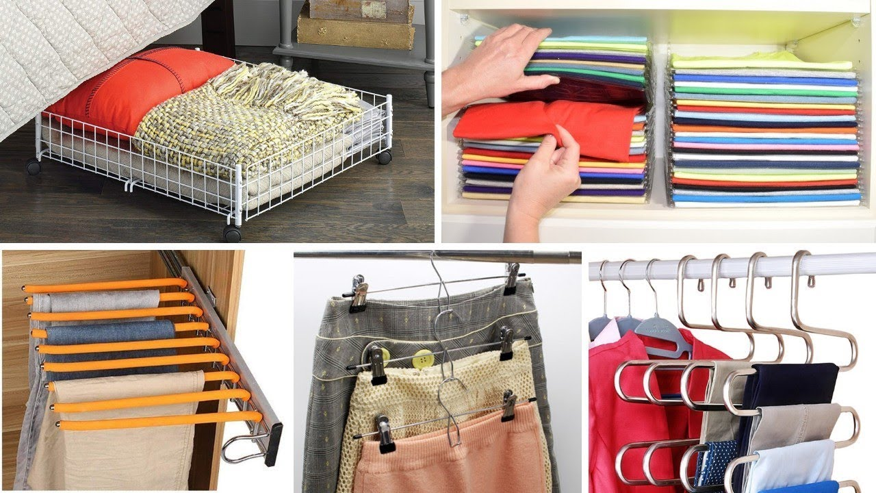 15 Clothes Storage Ideas For Small Spaces Youtube