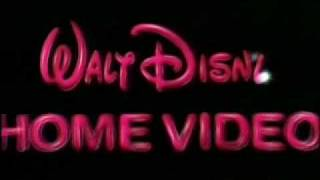 1986 Walt Disney Home Video Logo A K A Sorcerror Mickey Youtube