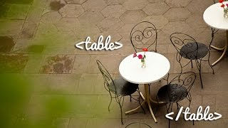 How to Create a Table in HTML