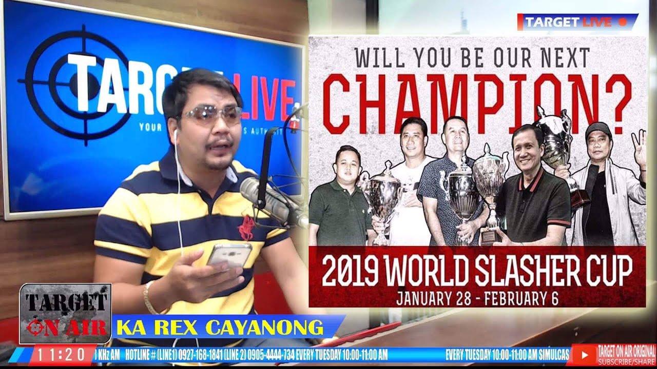 2019 World Slasher Cup Tata Rey Briones