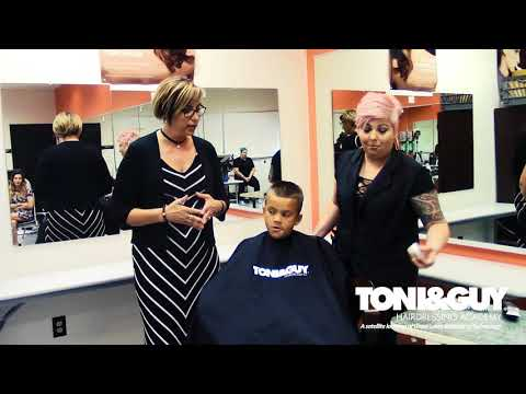 TONI&GUY Hairdressing Academy Erie - Back to School Look - Men's Fade