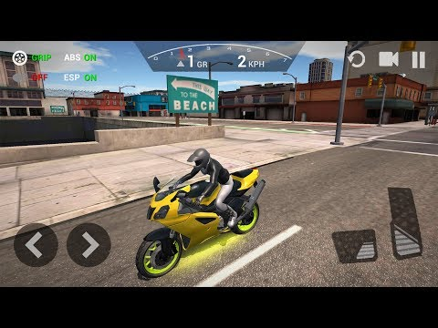 Ultimate Motorcycle Simulator New Motor Bike Unlocked - Andr