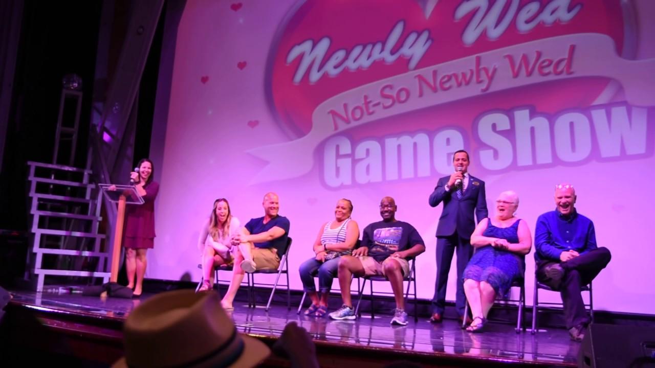 Norwegian Dawn Western Caribbean Cruise Newlywed not so Newlywed Game 2017  New Orleans Video 1