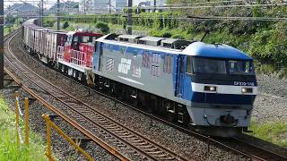 2019/09/29 JR貨物 5091レ EF210-148[岡]+ムドHD300-7