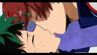 Tododeku Kiss Behind The Scenes (BTS) | Todoroki Shouto x Midoriya Izuku | Boku no HOMO Academia