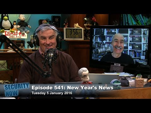 Security Now 541: New Year's News