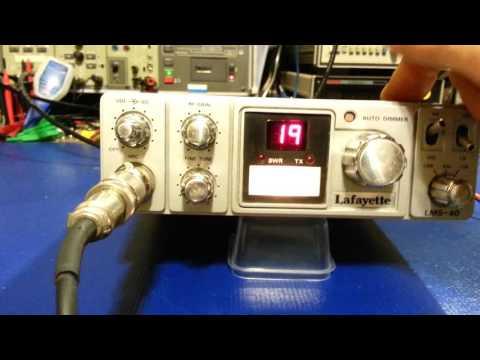 LAFAYETTE LMS-40 AM/SSB CB radio