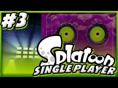 "Let's Play Splatoon Singleplayer - Stage 3 - ""Rise of the Octocopters!"""