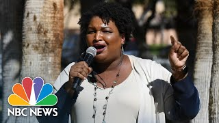 Stacey Abrams Details Her Efforts To Boost Georgia Voter Turnout | NBC News NOW