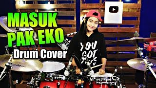 MASUK PAK EKO | TIK TOK | REMIX | Drum Cover by Nur Amira Syahira