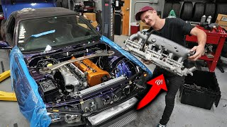 Found the problem! R34 GTR runs SICK now!