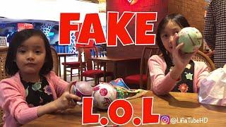 Fake LOL &amp Pikmi Pops  Unboxing Mainan Anak di Mall by Lifia Niala