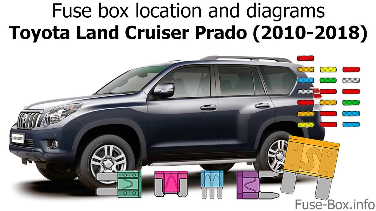 Fuse Box Location And Diagrams  Toyota Land Cruiser Prado
