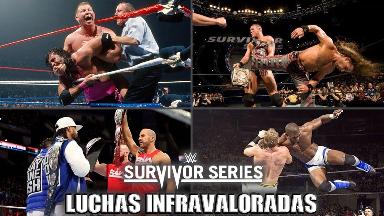 Las Luchas más Infravaloradas de Survivor Series