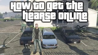 GTA 5 Online   How to get the hearse online simple and easy method