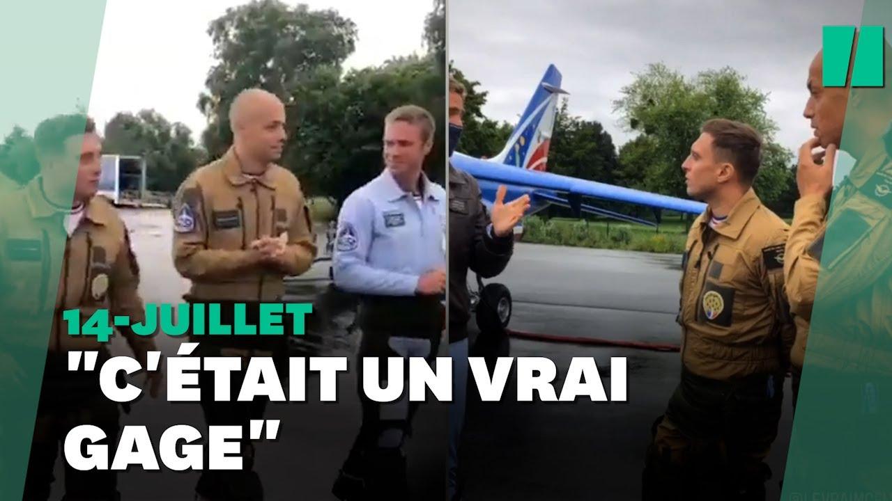Pour le 14-Juillet, Mcfly et Carlito ont survolé les Champs-Elysées avec la Patrouille de France