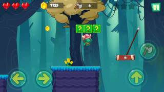 Jungle Adventures: Super World - Ask Garden Level 13... Gameplay (Free Game On Android)