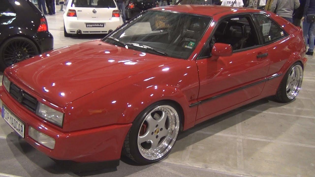 Volkswagen Corrado 1.9 110 hp (1991) Exterior and Interior in 3D ...