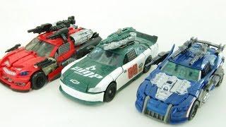 Transformers Autobot RoadBuster Leadfoot Topspin Vehicle  Car Toys 트랜스포머 로드버스터 리드풋 탑스핀 자동차 장난감 변신