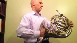 French Horn Posture and Embouchure