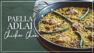 HOW TO MAKE PAELLA USING ADLAI: Chicken & Chorizo Paella
