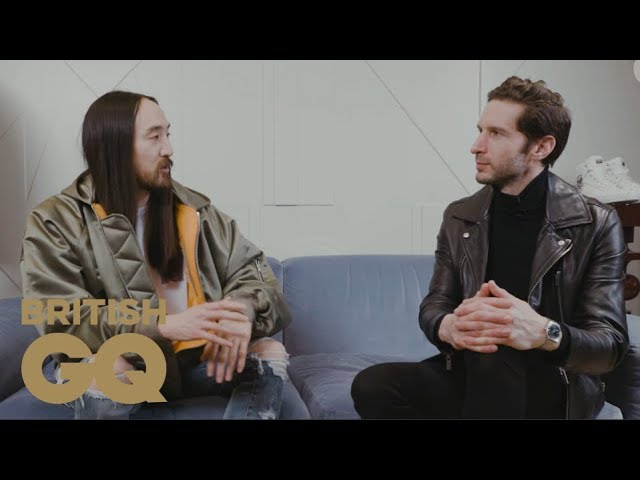 Steve Aoki goes shopping for the perfect on-stage outfit in London | British GQ