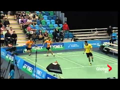 maneepong jongjit bodin issara fight at 2013 YONEX Canada Open