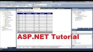 ASP.NET Tutoriel 3 - Comment Créer un compte de Connexion du site web - Création de Base de données Pour site web