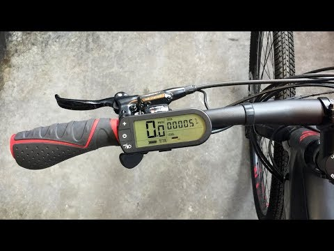 Easy Motion NEO/EVO Electric Bike Display Settings