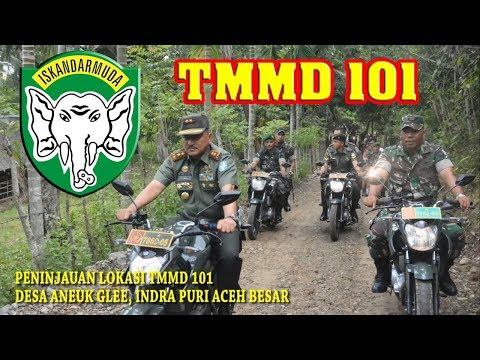TMMD KODIM 0101/BS KE-101 KODAM ISKANDAR MUDA